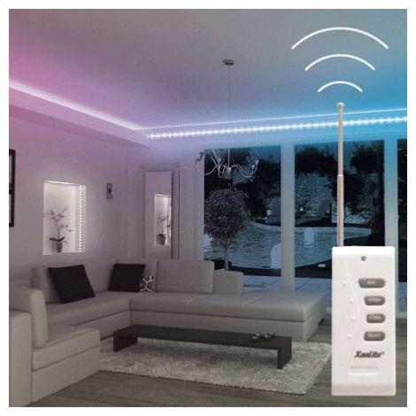 XANLITE - Ruban LED RVB (kit complet) - 3m - multicolor - LSBK3RVB