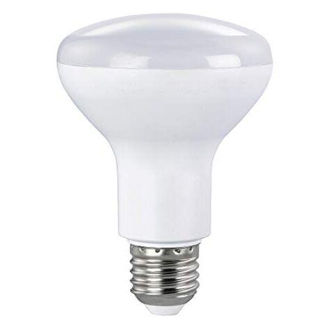 XAVAX AMPOULE LED (60 W, E27, 800 LM, 25000 H, BLANC CHAUD, LED 230V, AMPOULE EN FORME DE CLOU, REMPLACEMENT AMPOULE TYPE R80) M