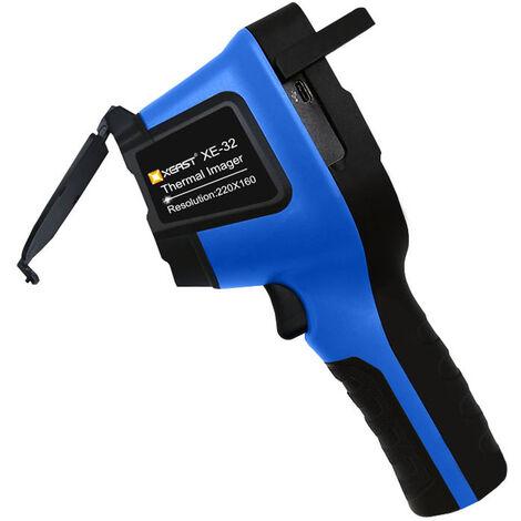 XE-32 3,5 pouces TFT ecran 220 * 160 Resolution rayonnement infrarouge Camera thermique Imageur thermique Indicateur IR Camera thermique Temperature Appareil de mesure