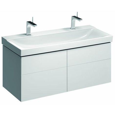 """main image of """"Geberit Smyle Square Handwaschbecken Unterschrank, 500363, 492x617x406mm, mit 1 Tür, rechtsöffnend, Farbe: Weiß Hochglanz Lack - 500.363.00.1"""""""