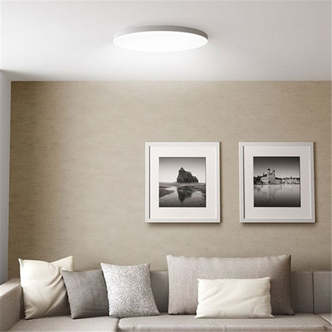 Xiaomi 32W Led Ceiling Light Modern White Super Bright Round App Control Motion Detector Hasaki