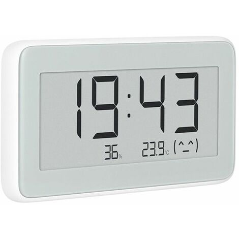 Xiaomi BT4.0 Wireless Smart electric Digital Clock Outdoor Hygrometer Thermometer LCD Temperature WASHED