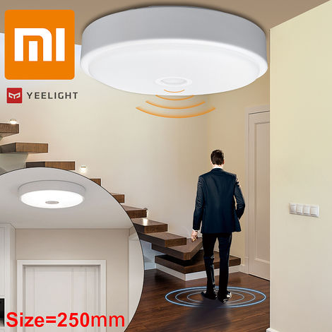 Xiaomi Yeelight Led Ceiling Lights, 10 Inch 670Lm Round Body Sensor, Bathroom, Kitchen, Corridor Lighting, Recessed Ceiling Light