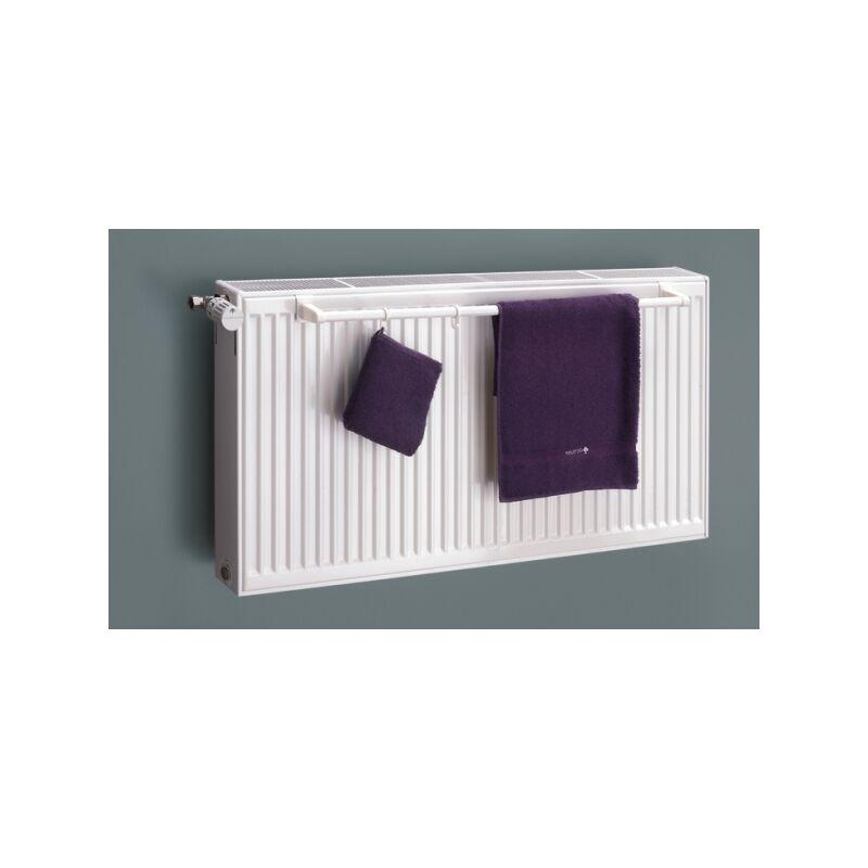XIMAX Heizkörper Handtuchhalter für Kompaktheizkörper Länge 740 mm / Chrom