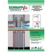 XIMAX Schnappfix Rohrverkleidung, in Weiß 3-Fach