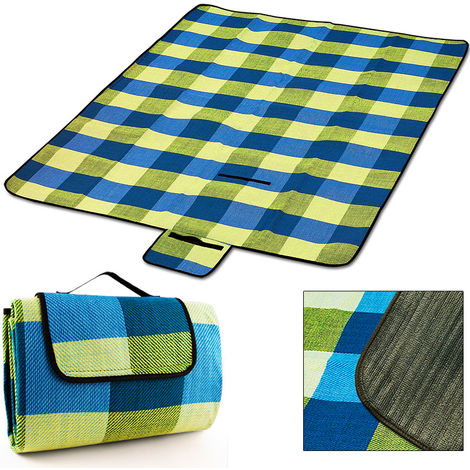 XL Picnic Blanket Beach Camping Rug Mat Travel Folding Outdoor Waterproof Bottom