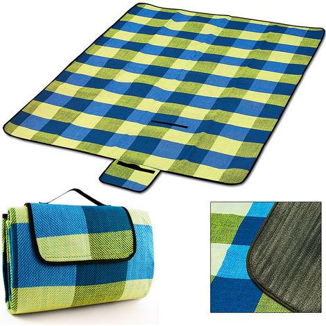 XL Picnic Blanket Beach Camping Rug Mat Travel Folding Outdoor Waterproof Bottom