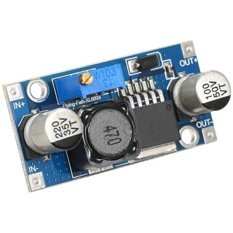 XL6009 DC 5V / 6V / 9V / 12V a 24V Boost regulador de voltaje ajustable Modulo Convertidor de