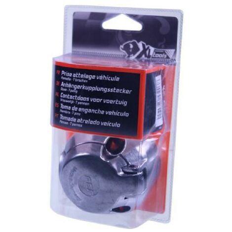 XLPT Prise attelage métal. 7 broches. Femelle