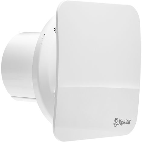 """main image of """"Xpelair 4""""/100mm Standard Square Extractor Fan 2 Speed c/w Timer C4TS"""""""