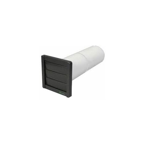 """""""Xpelair 4"""""""" Wall Vent Installation Kit Wall Tube External Grille Square VK10"""""""