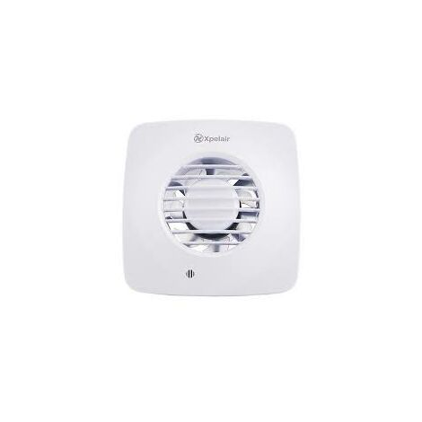 Xpelair DX100TS Timer Square Extractor Fan with Wall Kit - 93026AW