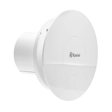 Xpelair LVCV4R Simply Silent Contour Low Voltage Constant Volume Round Fan (92971AW)