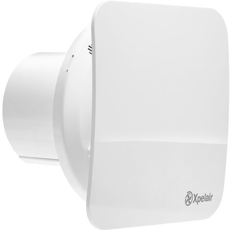 Xpelair Simply Silent C4S 100mm Square Contour Extractor Fan