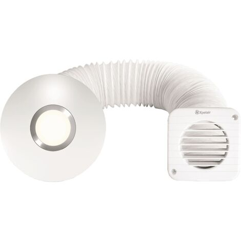 Xpelair Simply Silent Illumi Shower Fan Complete