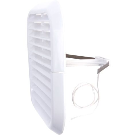 Xpelair Square White Simply Silent 4' Wall Kit