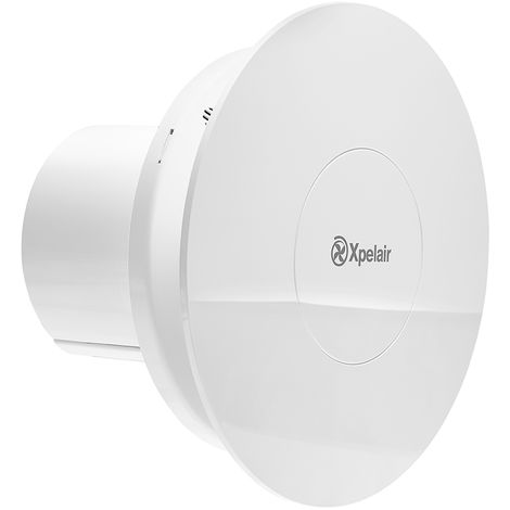 """Xperlair Contour 4""""/100mm Standard Round Extractor Fan 2 speed c/w H'Stat C4HTR"""