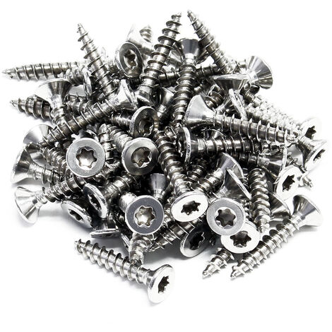 XPOtool Vis M 3.5x20 mm Hexagonale T15 Autotaraudante 60 pièces