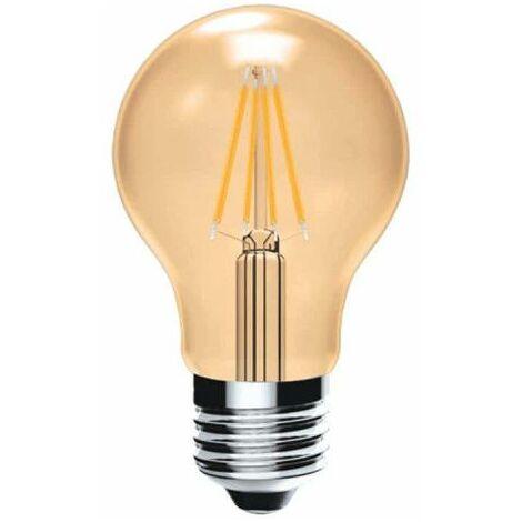 XXCELL Bombilla LED estándar de filamento vintage color ámbar - E27 - 4W