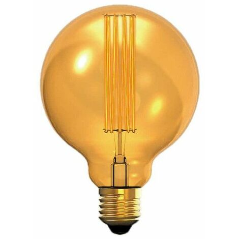 XXCELL Globo ámbar Vintage Bombilla de filamento incandescente - E27 - 40W