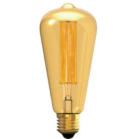 XXCELL Glühlampe Glühlampe Bernstein Birne Vintage - E27 - 40W
