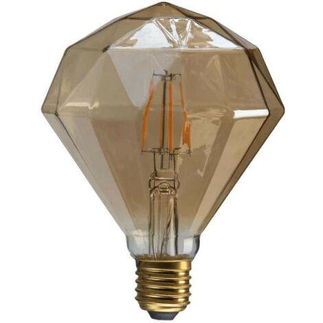 XXCELL LED Amber Vintage Diamond Bulb - E27 - 7W