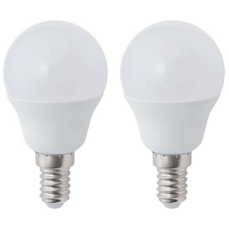 XXCELL Sphere LED Bulb - E14 equivalent 40W x2