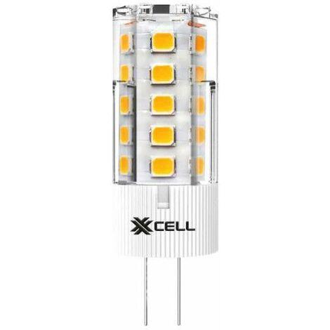 XXCELLL BI PIN Bombilla LED - G4 12V 2.5W equivalente 25W
