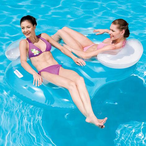 XXL Fauteuil gonflable 2 personnes piscine plage vacances 188x117cm - Bestway