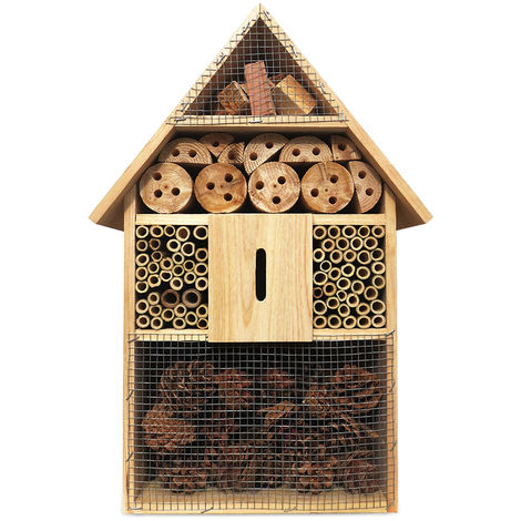 XXL Insect Hotel 48 cm Insect House Insects Bees Nesting Box Incubator