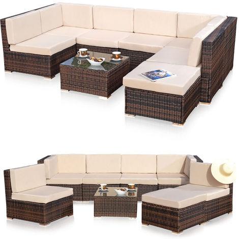 XXL jardin meubles de salon, groupe de meubles de jardin canapé et ...