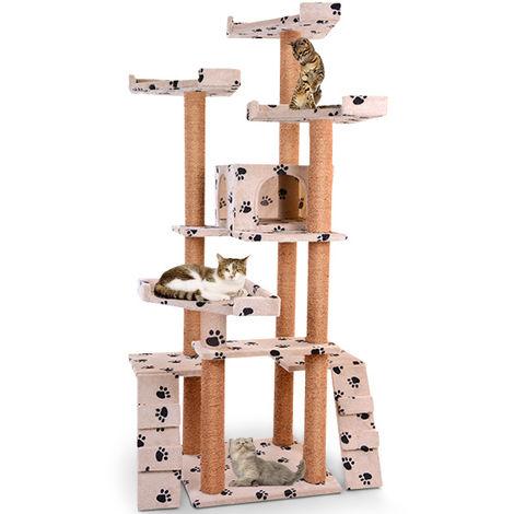 XXL Kratzbaum Katzenbaum Katzenkratzbaum Möbel für Katzen in diversen Farben