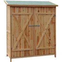 XXL Wooden garden shed tool equipment storage house