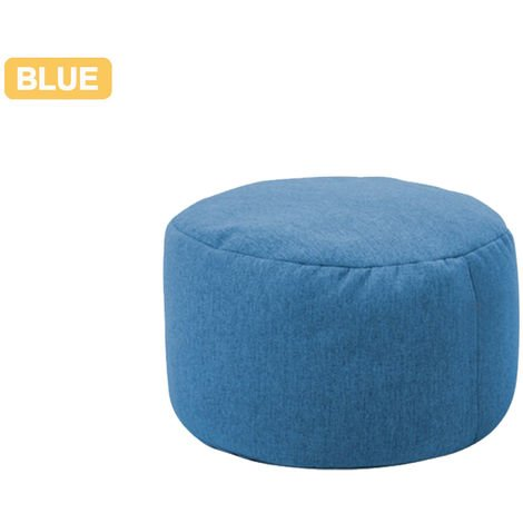 XXXL Round Lazy Cover Pouf Sofas Waterproof Cover Cover Chairs Without Filling