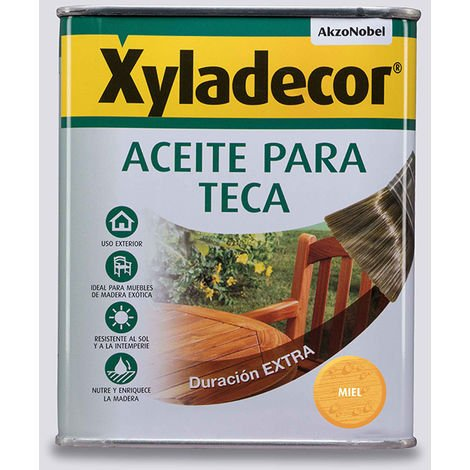 Xyladecor Aceite Miel Para Teca 5L - NEOFERR