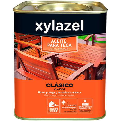 Xylazel aceite para teca color teca 2,5l