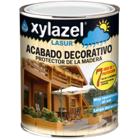 XYLAZEL LASUR AL AGUA MATE WENGUE 750 ML