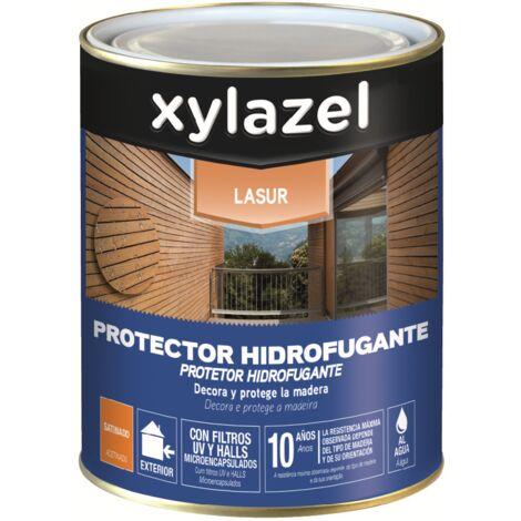 XYLAZEL LASUR HIDROFUGANTE SATINADO AL AGUA 2,5 LT