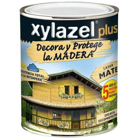 XYLAZEL PLUS DECORA MATE NOGAL 375 ML