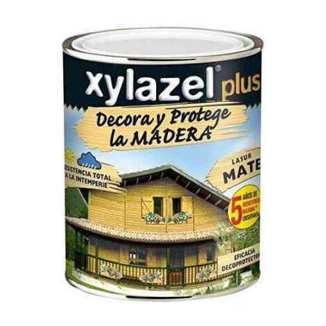 XYLAZEL PLUS DECORA SATINADO NOGAL 5 LITROS