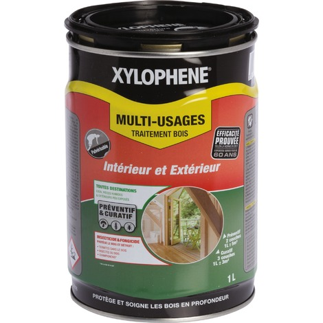 Xylophene traitement bois multi-usages