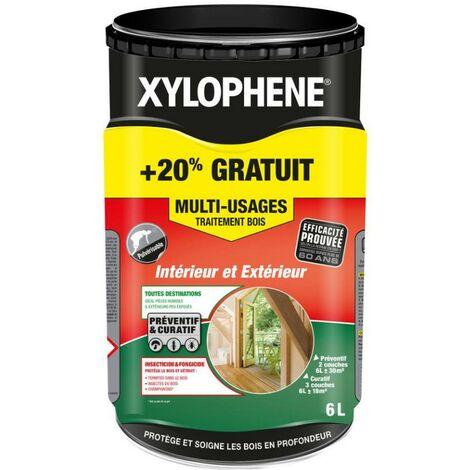 Xylophene traitement bois multi-usages | Conditionnement: 5L + 20%