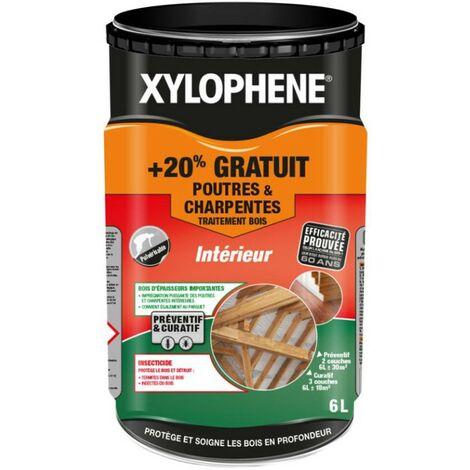 Xylophene Traitement Poutres et Charpentes | Conditionnement: 5L + 20%