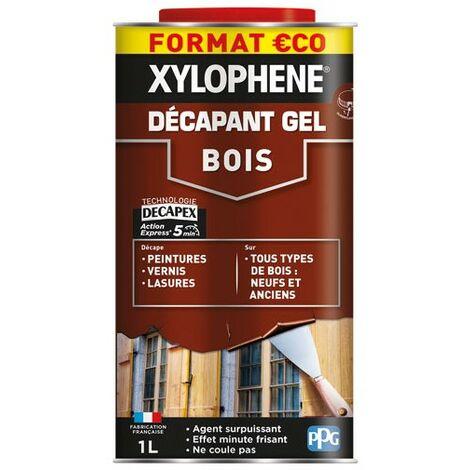 XYLOPHENE - Xylophène décapant gel bois 1L