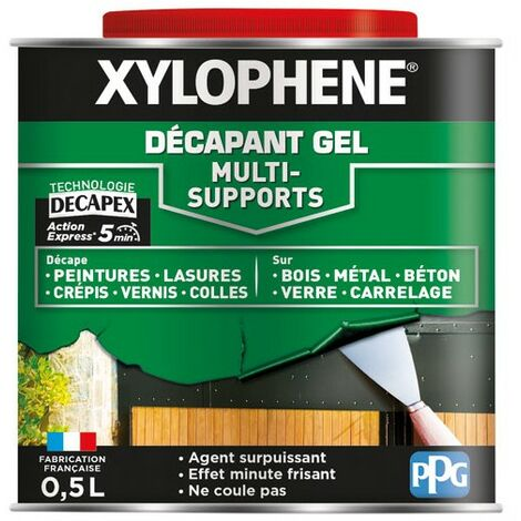 XYLOPHENE - Xylophène décapant gel multi supports 0.5L - incolore