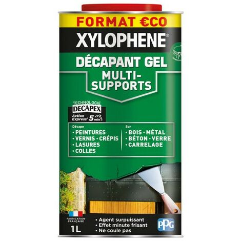 XYLOPHENE - Xylophène décapant gel multi supports 1L