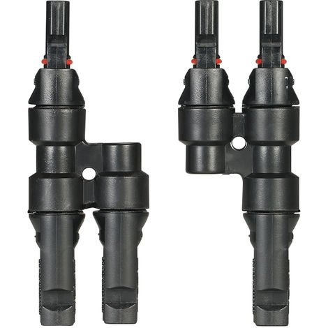 Y Branch MC4 Connectors Solar Energy Panel Adaptor 1 Pair