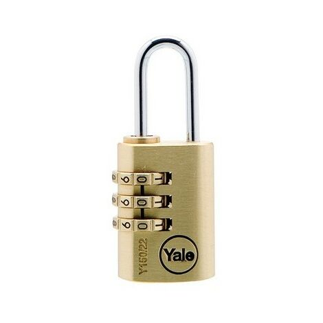 Y150 Brass Combination Padlock