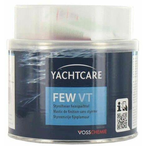 Yachtcare blanco almáciga por encima de la línea de flotación con el endurecedor 1kg