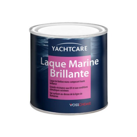 YACHTCARE marine lacquer - navy blue RAL 5005 - 750ml